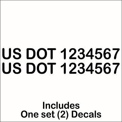 V446 0-9 Numbers Vinyl Sticker Decals Set Of 40 Pick Color /& Size 1//2 To 12 2, Black