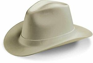 Occunomix VCB200-15 Vulcan Cowboy Style Hard Hat with Ratchet Suspension, Tan, N