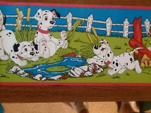 Details About Disney S 101 Dalmations Vintage Peal And Hang Wallpaper Border 7 X 5 Yds