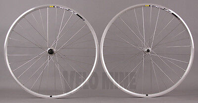 Mavic CXP Elite Silver Road Bike Wheelset Shimano 2400 Hubs 32h fit SRAM 8 9 10s