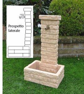 Bonfante fontana fontanella da giardino pietra ricostruita for Fontane da esterno moderne