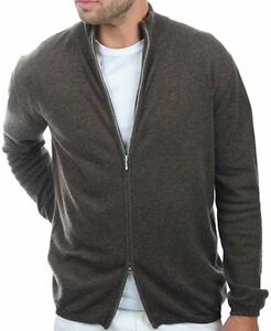Cardigan Xl 2 Men 100 veli Brown Heather Cashmere Balldiri aw8qtIPy
