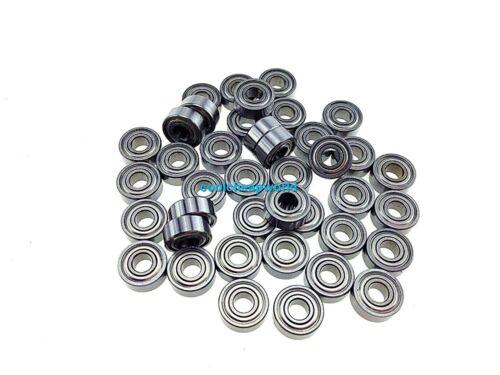 10pcs MR137ZZ MR137 2Z 7x13x4mm Metal Shielded Ball Bearing Miniature Bearing