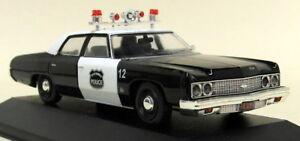 Atlas-1-43-Scale-003-Chevrolet-Bel-Air-USA-1973-Police-Car-Diecast-model-car