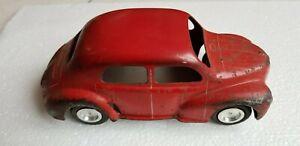 Voiture Longueur Renault Rouge Sur 18 Cij Jrd Cmmarque Miniature Détails Tôle 4cv Auto En Ov8mwnN0