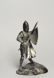 Tin-soldier-figure-Medieval-Knight-54-mm