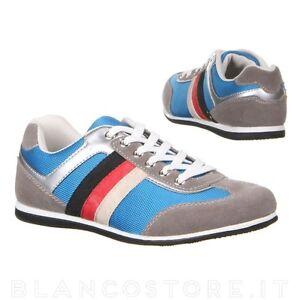 scarpe-uomo-SNEAKERS-SPORTIVE-PASSEGGIO-ginnastica-sport-tela-camoscio