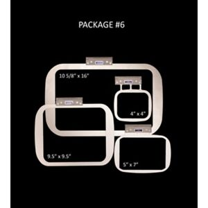 Details about Durkee SAC4PCSNXP EZ Frame Set for Brother XP1 Luminaire and  Baby Lock Solaris
