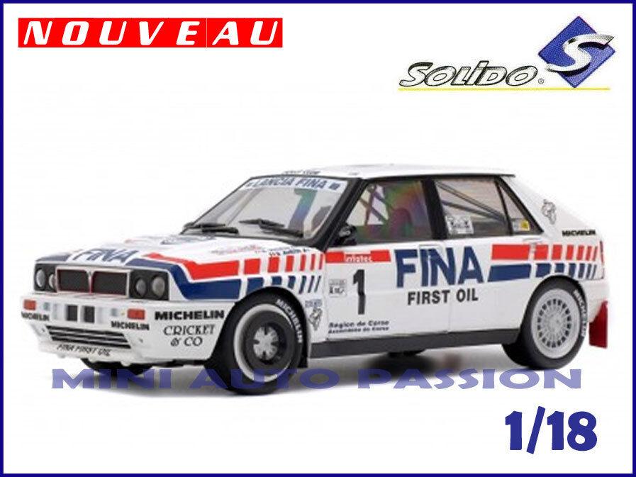Lancia Delta Intégrale - Tour de Corse  1991  - Echelle 1 18 - SOLIDO  - 1800801