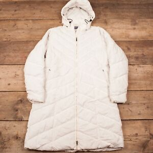 Zip Women's Patagonia Xl Full Coat White Goose Long Jacket Down 14 HtxxSrwq