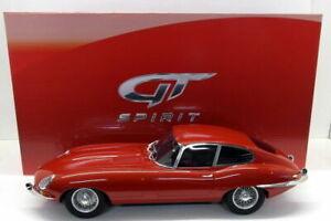 GT-SPIRIT-761-JAGUAR-E-TYPE-COUPE-resin-model-car-Carmen-red-Limited-Ed-1-12th