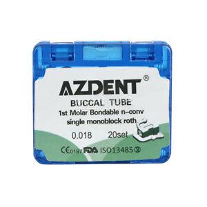 AZDENT-Dental-Orthodonic-Bonding-1st-Molar-Buccal-Tube-Non-Convertible-Roth-018