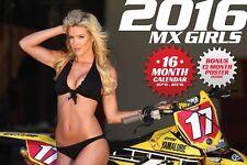2016 MX GIRLS BIKINI CALENDAR maxxis maxxcross michelin starcross pirelli dunlop