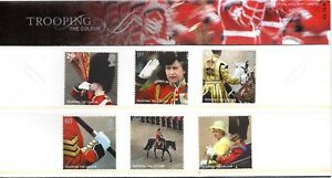 2005-Sg-2540-5-Trooping-The-Colour-Presentation-Pack-No-372