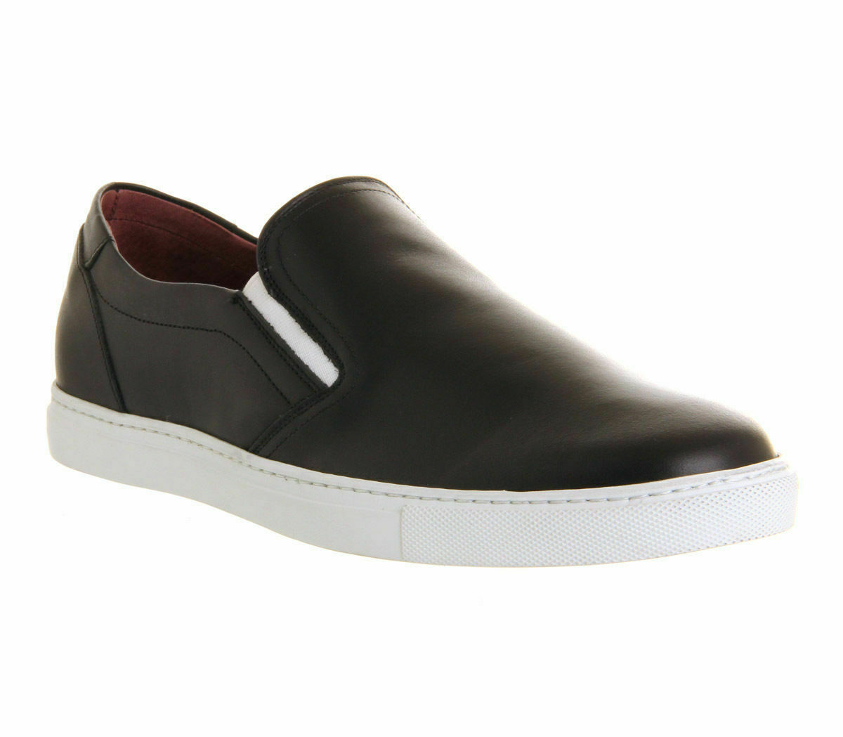 BNIB Poste Full Leather Casual shoes. Colour Black. Size 9. Office.co