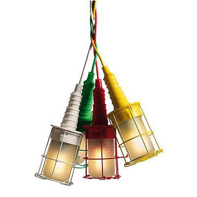 SELETTI lampada UBIQUA design industriale appendibile colore a scelta