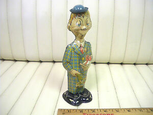 1939-MARX-Mortimer-Snerd-Tin-Lithographed-Wind-Up-Toy