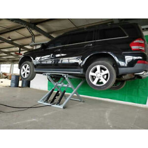 Car Lifts For Home Garage >> Details About Small Portable Scissor Car Lift For Home Garage Load 2700kgs Model Sp606