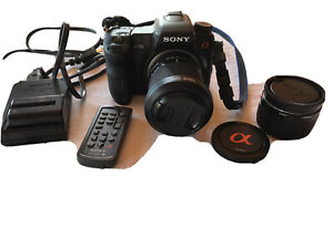 Sony-DDLR-A700-Camera-With-2-Lenses