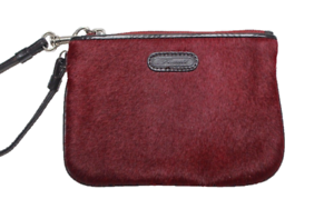 FOSSIL-Fossil-Red-Calf-Hair-Wristlet