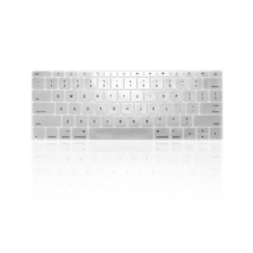 "SILVER Keyboard Cover for Macbook Pro 13/"" A1708 WITHOUT Touch Bar Release 2016"