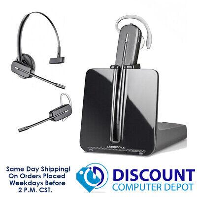 Plantronics Cs540 Dect 6 0 Convertible Wireless Headset System 84693 01 Ebay