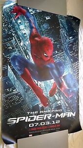AMAZING SPIDER-MAN 2012 Bus Shelter Movie Poster 4x6 Ft + FREE SHIPPING! #MARVEL