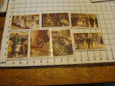 COTE D'OR chocolat belge cards (7 cards) group 4