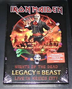 Iron-Maiden-Nights-Of-The-Dead-Legacy-Beast-Live-IN-Mexico-City-CD-Nuevo