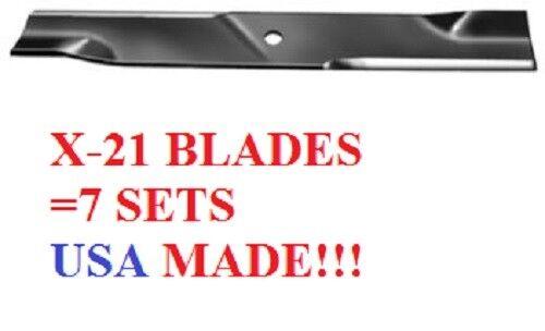 "21 USA made blades Fits Big dog 60/"" cut diablo stout   793794 794685 best blades"
