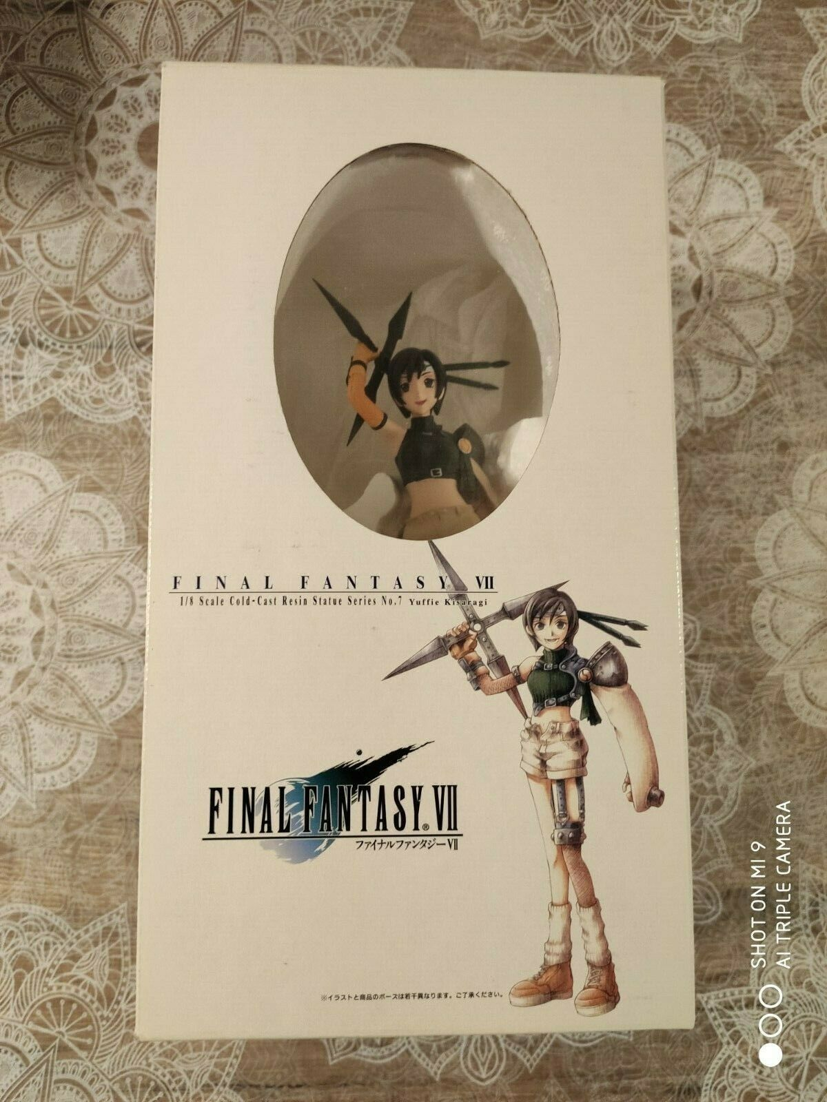 Figurine Figure Final Fantasy FF 7 VII kotobukiya resin Youffie square enix