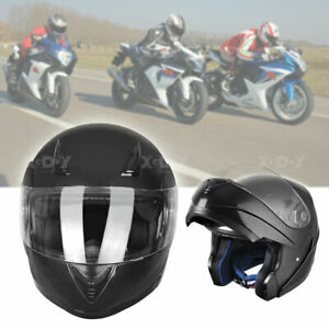 8ad0e053 Image is loading Flip-Up-Front-Modular-Motorcycle-Helmet-Full-Face-