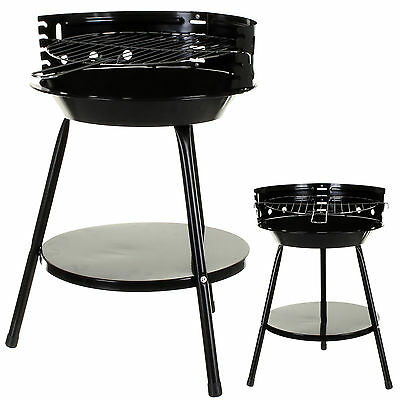 GARDEN BBQ BARBECUE CHARCOAL GRILL STEEL CAMPING PORTABLE COOKING OUTDOOR PATIO