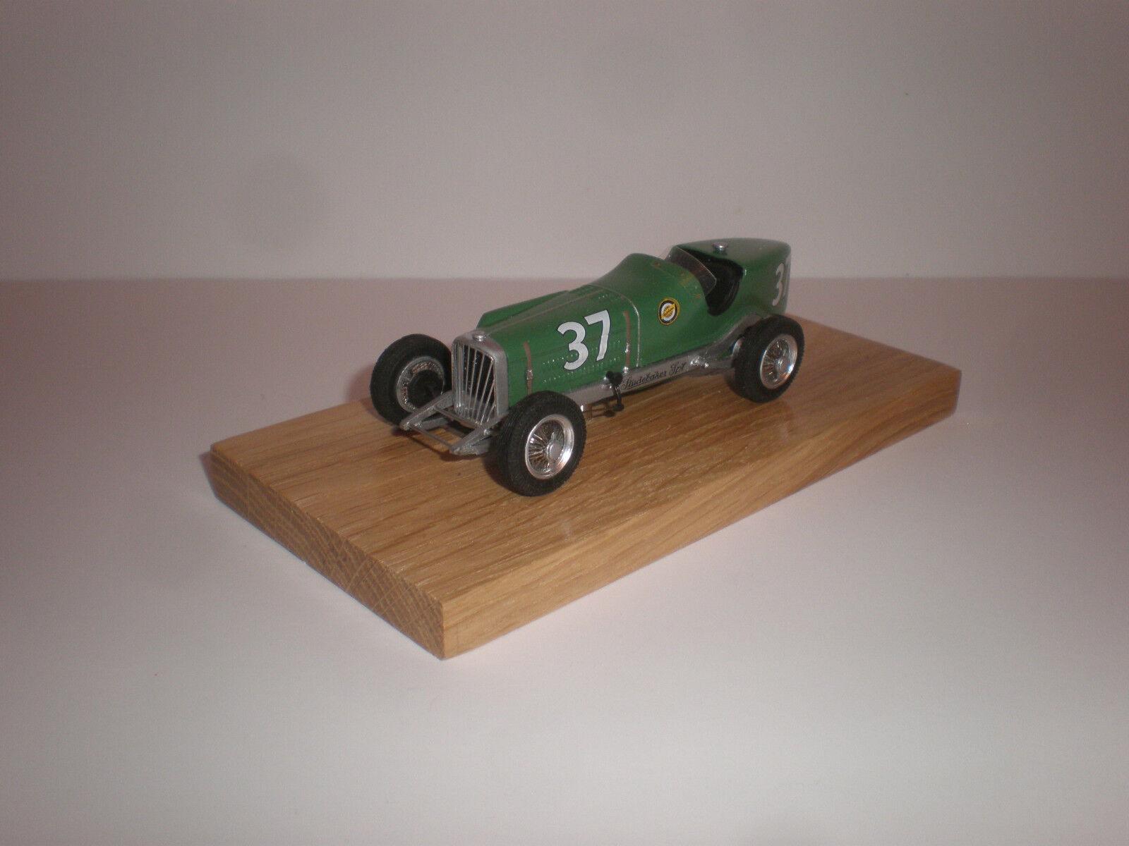 1 43 1931 Studebaker Racing Car LSR hecho a mano