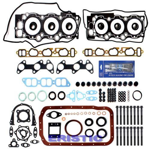 88-91 TOYOTA LEXUS V6 2.5 L FULL GASKET BOLTS KIT 2VZFE
