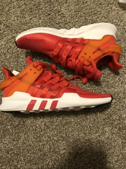 Adidas EQT Support ADV Running Shoes Mens Size 7 Real Coral White CQ3004 New