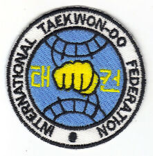 [Patch] TAEKWON-DO cm 7 toppa ricamo TAEKWONDO Arti Marziali DOBOK -116p
