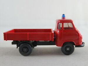 Wiking-340a-1-Hanomag-mensajero-camastro-1958-034-bomberos-034-1-87-h0-nuevo-sin-usar