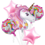 5PC-Unicorn-Foil-Balloons-Baby-Shower-Birthday-Party-Decoration-Helium-Balloon thumbnail 1