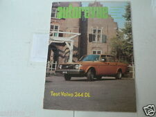 AUTOREVUE 1974-23 VOLVO 244 DL,ZANDVOORT 1975,CITROEN GS ADD,F1 1975,RALLY,ROD
