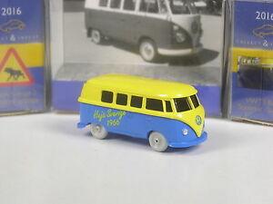 Wiking-C-amp-I-Schweden-Sondermodell-VW-T1-Sommer-in-Schweden-Heja-Sverige-1966