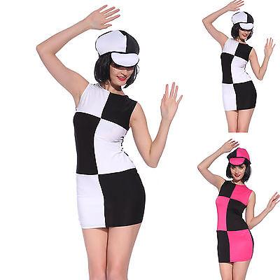NEU Damen Retro Style Kostüm 50er Vintage Rockability Kleid Abendkleid Gogo GIRL