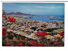 Postcard: Garden City and Port of La Cruz, Las Palmas de Gran Canaria, Spain