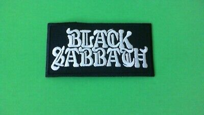 New Ozzy Osbourne Metallica Iron Maiden Black Sabbath Iron On Patch