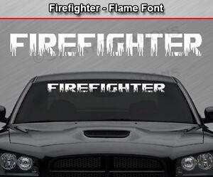 FIREFIGHTERS GIRLFRIEND MALTESE CROSS WINDOW DECAL