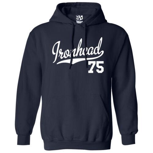 Ironhead 75 HOODIE All Colors Hooded 1975 Custom Chopper Bobber Sweatshirt