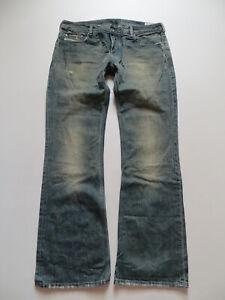 Diesel-ZATHAN-wash-008XJ-Bootcut-Jeans-Hose-W-36-L-34-Vintage-Denim-KULT