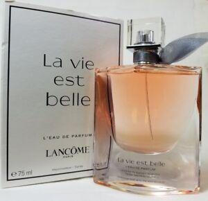 88d774e7dd Lancome La Vie Est Belle 2.5 oz 75 Ml Women s Eau de Parfum Tester ...
