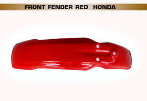 HONDA-XL350-XL250-XL125-XL100-RED-FRONT-FENDER-BI1182