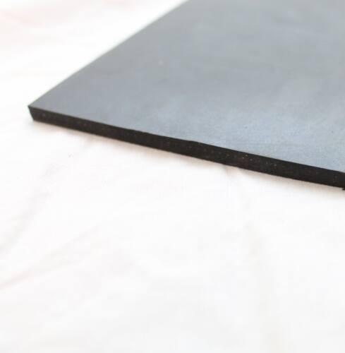Gummimatte SBR 4mm1200x500mm mit 2 Einlagen Dichtung Bautenschutz Gummi